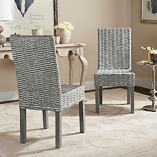 "Dakota 18"" Rattan Side Chair (Set of 2), , rollover"