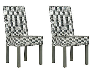 "Dakota 18"" Rattan Side Chair (Set of 2), , large"