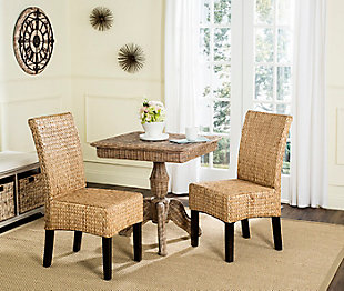 """Symphony 18"""" Wicker Dining Chair (Set of 2), , rollover"""