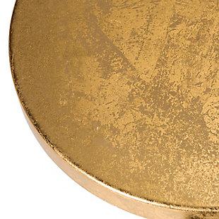 Warren Gold Finish Bar Stool, Navy/Gold, large