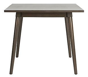 Brady Square Dining Table, Gray Walnut, large
