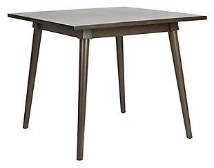 Brady Square Dining Table, Gray Walnut, large