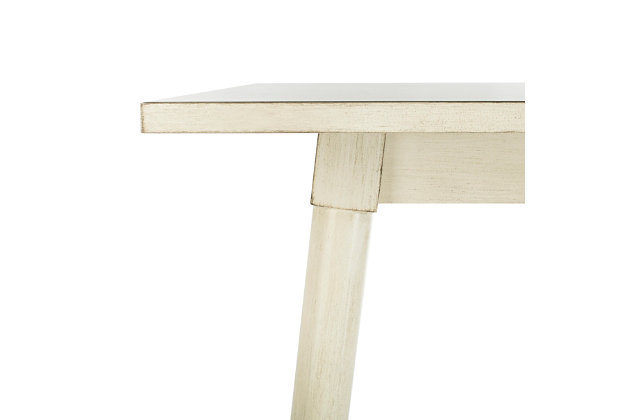 Brady Square Dining Table, White, large