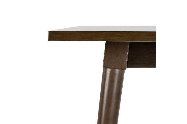 Brady Rectangular Dining Table, Gray Walnut, large