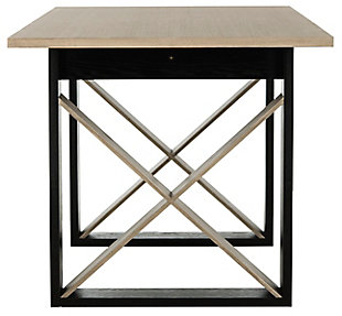Campania Modern Wood Dining Table, , large