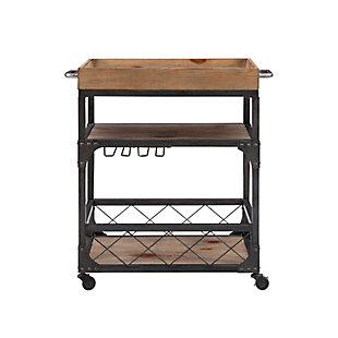 Powell Rolling Sawyer Bar Cart, , large
