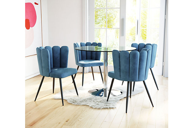 Adele Dining Chair Set Of 2 Ashley, Ashley Furniture Blue Dining Room Chairs