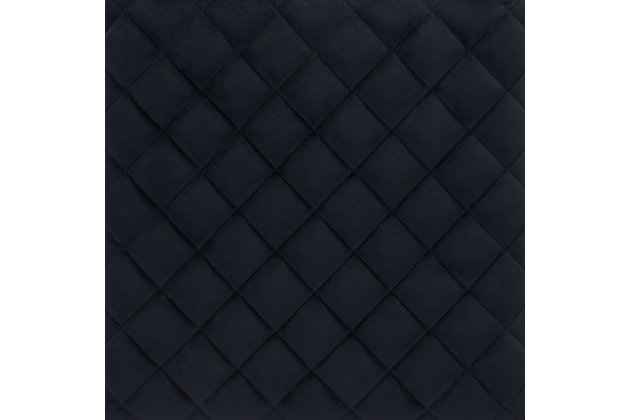 Zuo Modern Element Bar Stool, Black, large