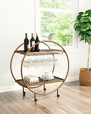 Zuo Modern Arc Bar Cart, , rollover