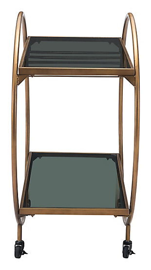 Zuo Modern Arc Bar Cart, , large