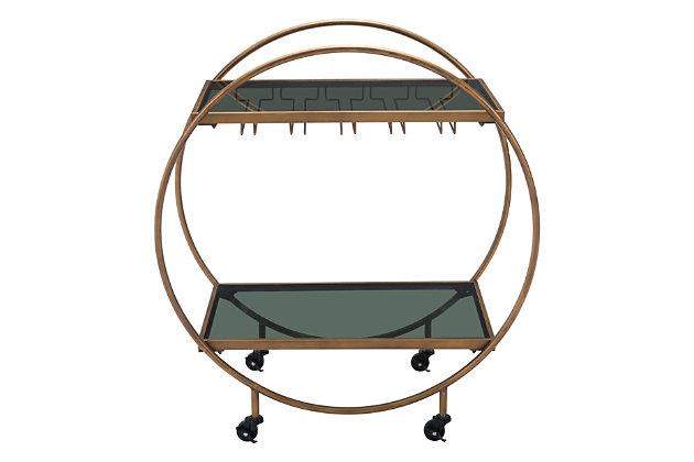 Zuo Modern Arc Bar Cart, , large