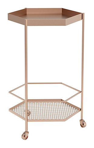Zuo Modern Hex Bar Cart, , large