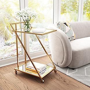 Zuo Modern Alto Bar Cart, , rollover