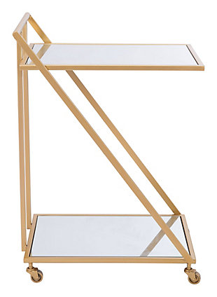 Zuo Modern Alto Bar Cart, , large