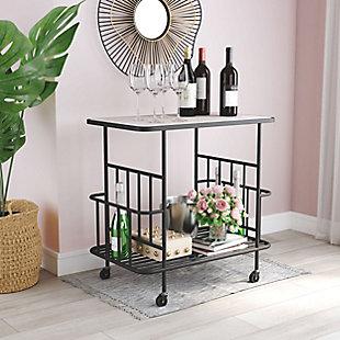 Zuo Modern Argus Bar Cart, , rollover