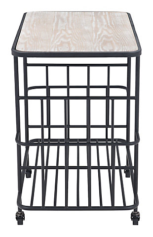 Zuo Modern Argus Bar Cart, , large