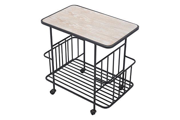 Zuo Modern Argus Bar Cart, , large
