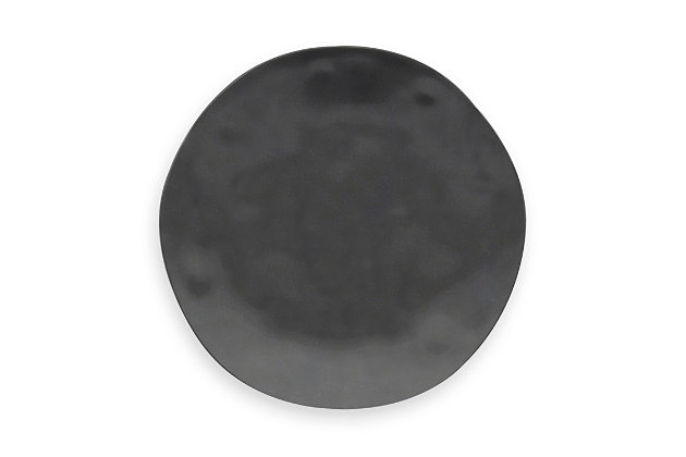 TarHong Planta Black Dinner Plate (Set of 6), , large