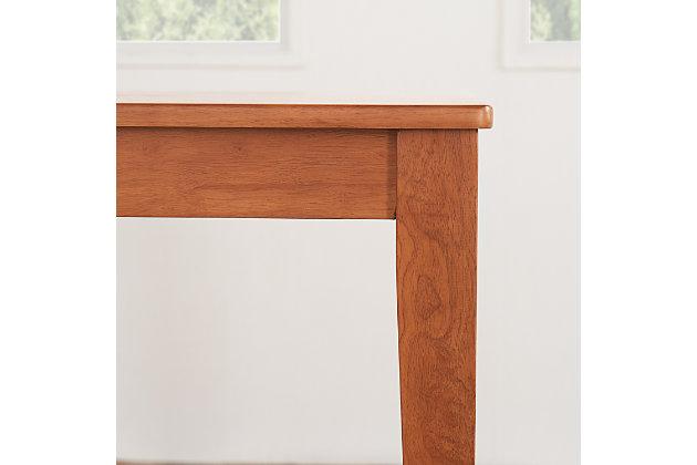 Elsmere Elsmere Indoor Wood Dining Table, , large