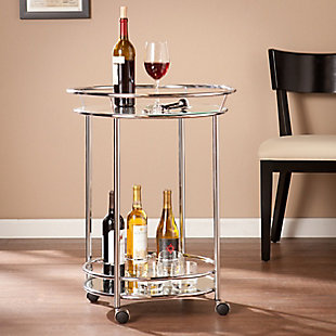 Anaya Anaya Bar Cart - Chrome, , large