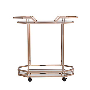 Charles Charles Art Deco Bar Cart, , large