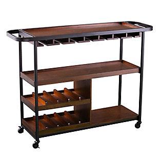 Holmgren Holmgren Rolling Wine Cart, , large