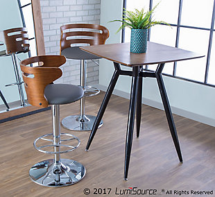 Cosi Adjustable Height Bar Stool, , rollover