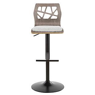 Folia Adjustable Height Bar Stool, , large