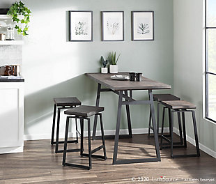 Geo Counter Stool (Set of 2), , rollover