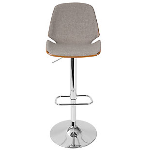 Serena Adjustable Height Bar Stool, , large