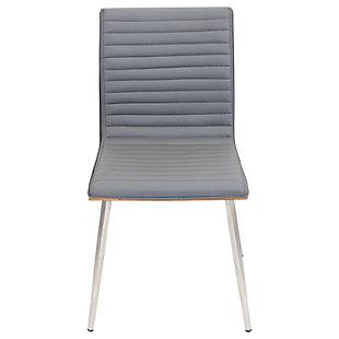 Mason Swivel Chair (Set of 2), Walnut/Gray, large