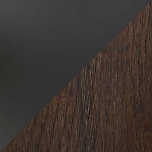 Dakota Adjustable Height Table, Gray/Brown, large
