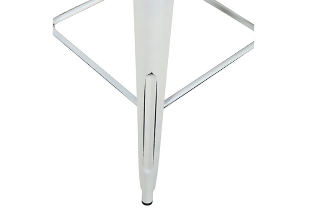 """Euro Style Danne 24"""" Bar Table, White, large"""