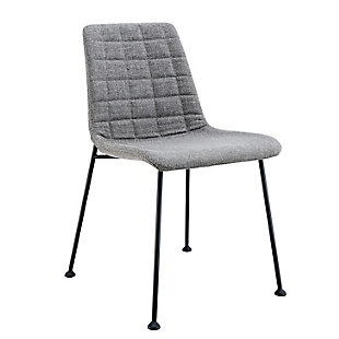 Euro Style Elma Dining Chair (Set of 2), Gray, rollover