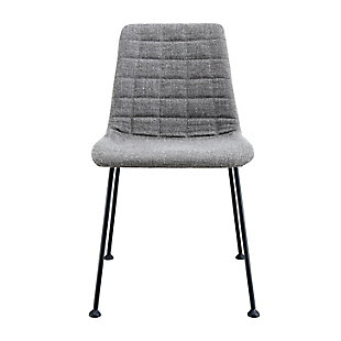 Euro Style Elma Dining Chair (Set of 2), Gray, large