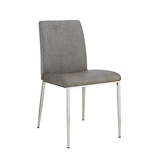 Euro Style Rasmus Dining Chair (Set of 2), Light Gray, rollover