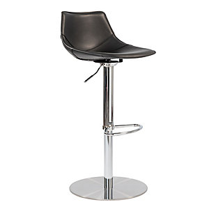 Euro Style Rudy Adjustable Swivel Bar/Counter Stool, , rollover