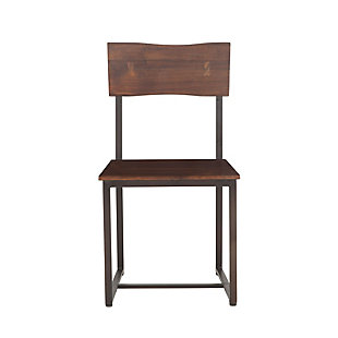 Belfrie Acacia Wood Live Edge Dining Chairs (Set of 2), , large