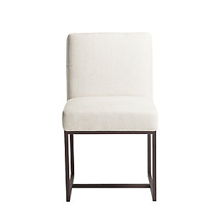 Rebel Off-White Linen Dining Chairs (Set of 2), , large