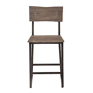 New Orleans Live Edge Counter Chairs (Set of 2), , rollover