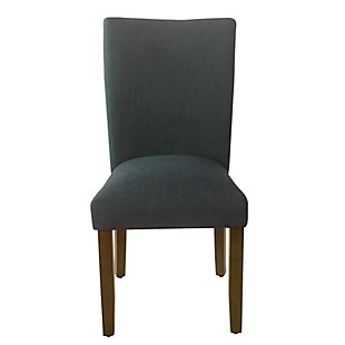 Classic Parsons Dining Chair - Navy Woven (Set of 2), , rollover