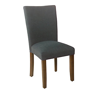 Classic Parsons Dining Chair - Navy Woven (Set of 2), , large