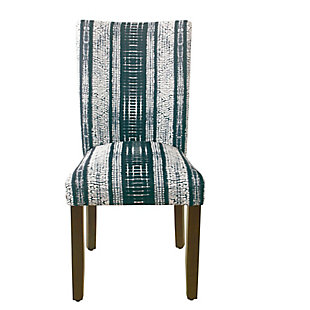 Classic Parsons Dining Chair - Indigo Stripes (Set of 2), , rollover