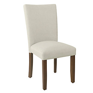 Classic Parsons Dining Chair - Soft Gray Woven (Set of 2), , large