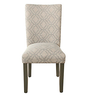 Classic Parsons Dining Chair - Gray Geometric (Set of 2), , rollover