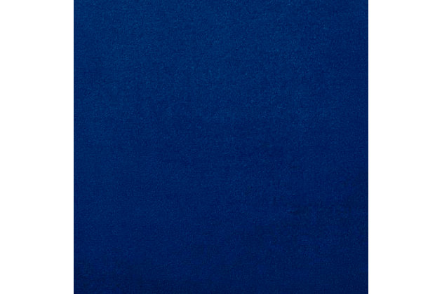 Metropolitan Metropolitan Navy Velvet Chair, Blue, large