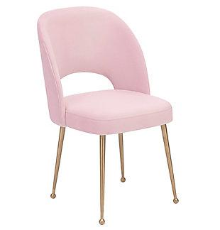 Swell Swell Blush Velvet Chair, , large