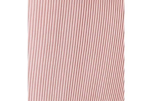 Beatrix Beatrix Pleated Blush Velvet Side Chair, Pink/Gold, large