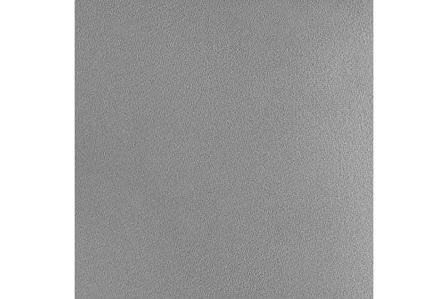 Hart Hart Gray Velvet Bar Stool, Gray/Black, large