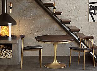 Alfie Alfie Brown Chair, , rollover